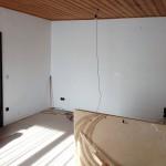 Und schließlich verschwindet auch noch der Schrank an der Wand, um Platz für das neue Projekt zu machen.